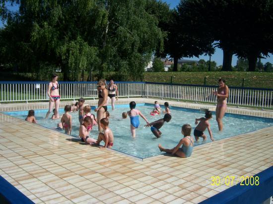 un anniversaire la piscine